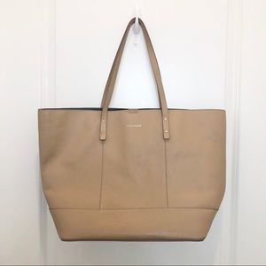 Cole Haan Leather Tan Tote Bag